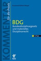Dieter Hummel u.a.: BDG – Bundesdisziplinargesetz und materielles Disziplinarrecht