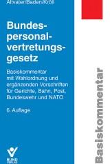 Altvater/Baden/Kröll: Bundespersonalvertretungsgesetz